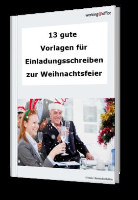 Einladungsschreiben Zur Weihnachtsfeier.Artikel