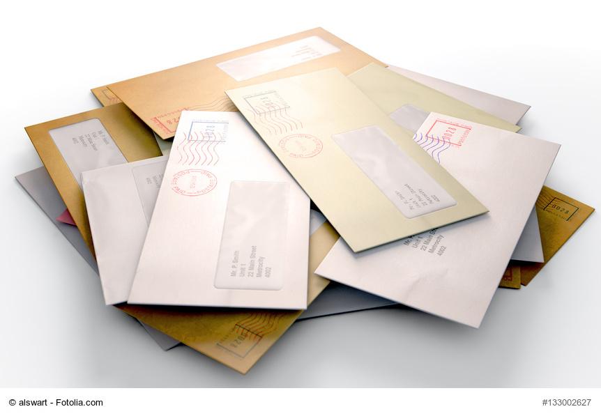 Brief persönlich vertraulich adressieren